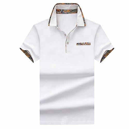 リールの配列救急車SHEYA ポロシャツ メンズ 半袖 poloシャツ 無地 スポーツ サッカー ゴルフ ゴルフウェア 春 夏