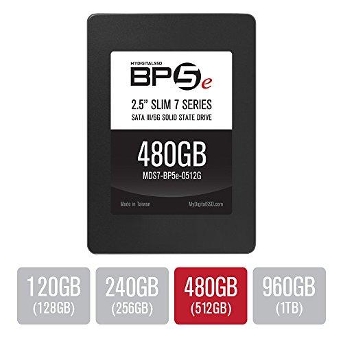 "MyDigitalSSD 480GB  BP5e Slim 7 Series 7mm 2.5"" SATA III  SS"