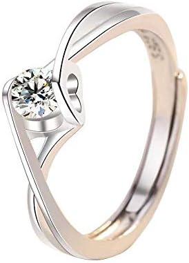 925 Silver Diamond Rings