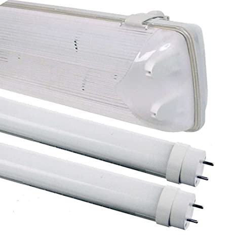 6 ft doble LED tira de luz no corrosivo lámpara de techo ...