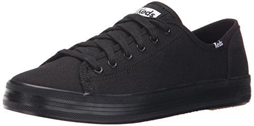 Keds Women's Kickstart Fashion Sneaker,Black/Black,9.5 M US