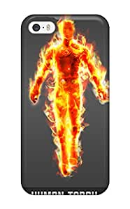 Human Torch Case Compatible With Iphone 5/5s Hot Protection Case