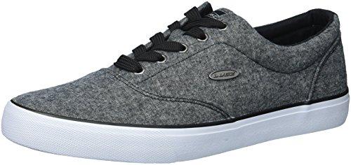 Lugz Men's Seabrook Sneaker, Black/White, 9.5 D US