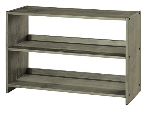 DONCO KIDS 790DAG Louver Bookcase, Antique Grey