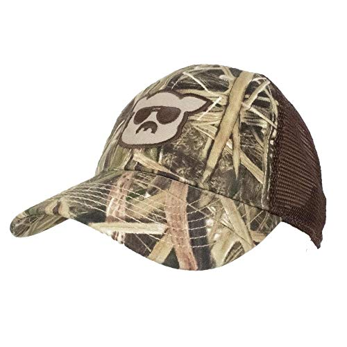 - Islanders Mossy Oak Blades Camo Pig Face Trucker Hat, Mossy Oaks Blades Camo/Brown, One Size