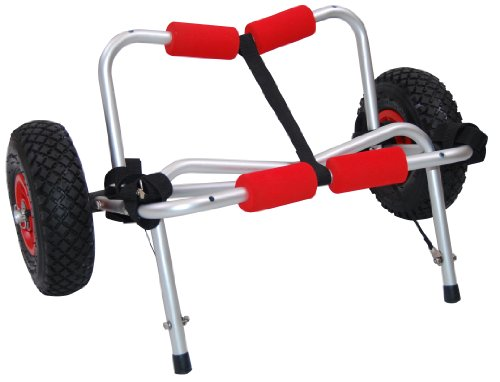 Crack of Dawn Malibu Kayaks Aluminum Folding Wheel Cart by Crack of Dawn