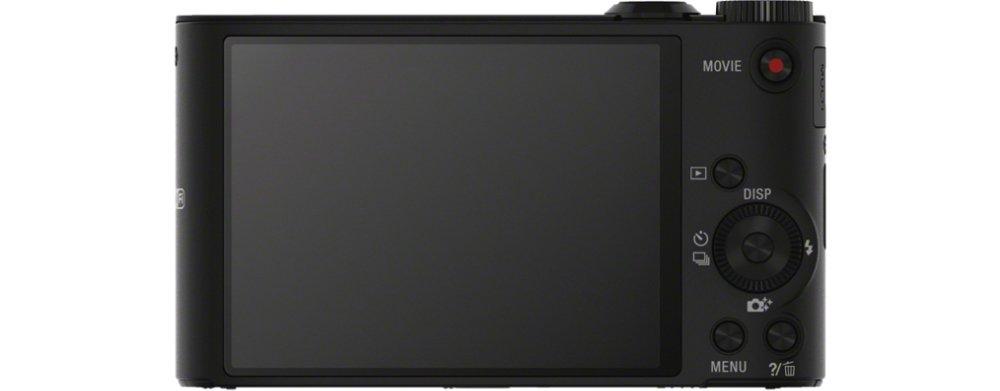 SONY デジタルカメラ Cyber-shot WX300 2110万画素 光学20倍 ブラック DSC-WX300(B)   B00BQ6VHQI