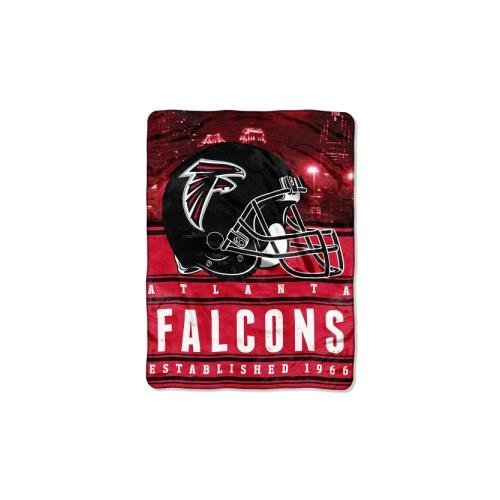 NFL Atlanta Falcons Stacked Silk Touch Throw, 60″ x 80″