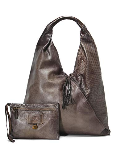 Price comparison product image Alchimia Women's Leather Saeta Slouch Shoulder Bag Olive One Size