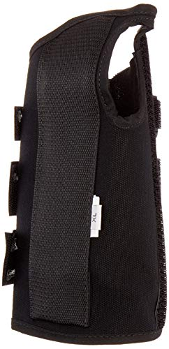 (Sammons Preston Canvas Wrist Splint, Right, XL, Orthopedic Support Brace for Tendonitis, Inflammation, Carpal Tunnel, Injuries & Pain, Full Finger Function, Comfortable Compression & Immobilization)