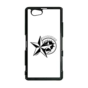 The Avant-Grade Design Luxury Converse Logo Cover Case for Sony Xperia Z1 Compact Trend Sneaker Series Phone Case