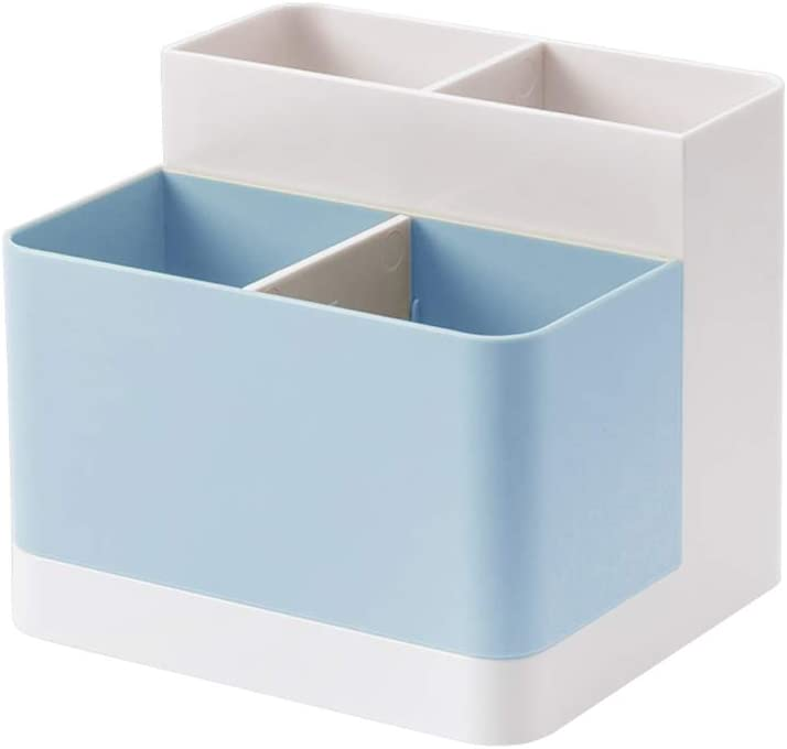 Lunmore Desktop Storage Organizer Pencil Case Card Holder Box Container for Desk, Office Supplies, Vanity Table