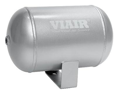 "Viair 91014 1 Gallon 4-Port Air Reservoir Tank with 1/4"" NPT"