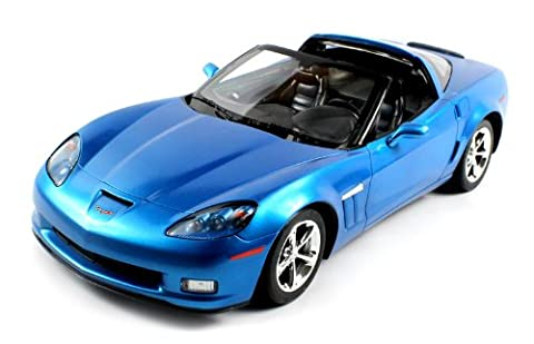 Officially Licensed Licensed Chevy Corvette C6 GS Electric RC Car 1:12 RTR (Colors May Vary) Big Size, Authentic Body Styling by Velocity (C6 Corvette Toy)