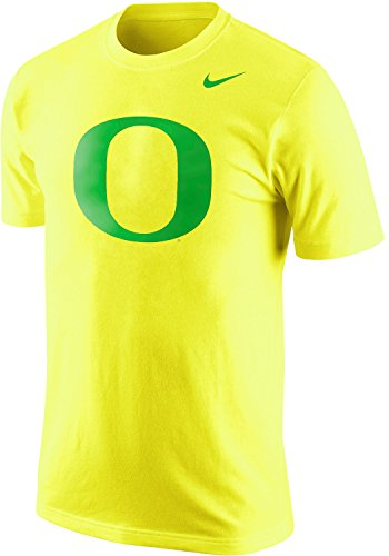 Nike Oregon Ducks Men's Tri-Blend Logo Plus T-Shirt (Large, Yellow) ()