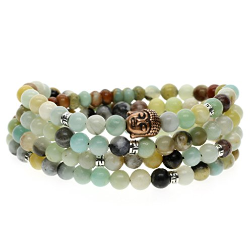 COAI Amazonite Prayer Bracelet Necklace