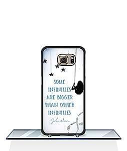 Galaxy S6 Edge Fashion Classic Design Funda Case The Fault in Our Stars logo Film Pattern [Slim Fit] & [Tough] Hard Plastic Phone Funda Case Snap - On Samsung Galaxy S6 Edge (just for S6 Edge)