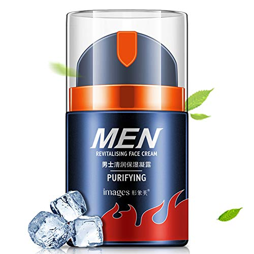 Men's Face Cream, Deep Moisturizing Hydrating Anti-wrinkles Removal Anti-Aging Anti Lifting Whitening Moisturizer Man's Facial Cream, Best Daily Face for Men, Best Oil-Control Cream for Male (A) (Cream Fuel Anti Facial Wrinkle)