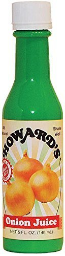 Howards Onion Juice, 5-ounce Bottle by Howard