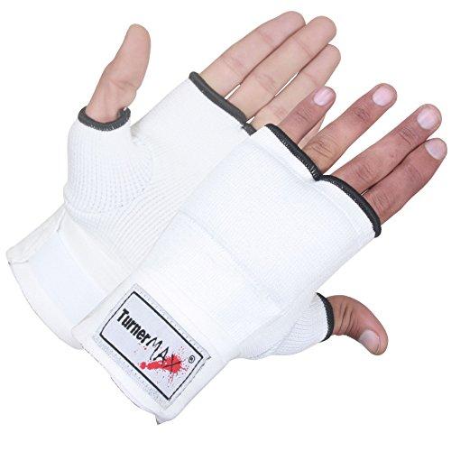 TurnerMAX Inner Gloves, Elasticated, White, Small