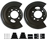 Rear Brake Dust Shield Backing Plates Pair For Ford F250 F350 Replacement OE 924-212 Excursion 2 Pack