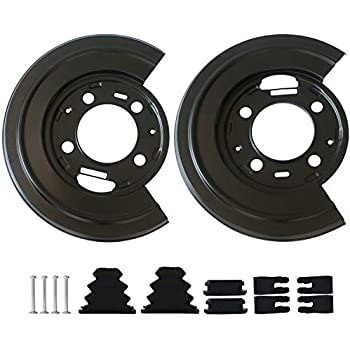Dorman Rear Brake Dust Shield Backing Plates Pair for ford F250 F350 Excursion