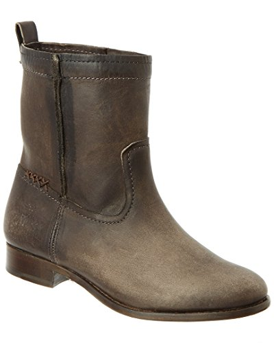 FRYE Womens Cara Short Suede Boot Smoke Washed Oiled Vintage