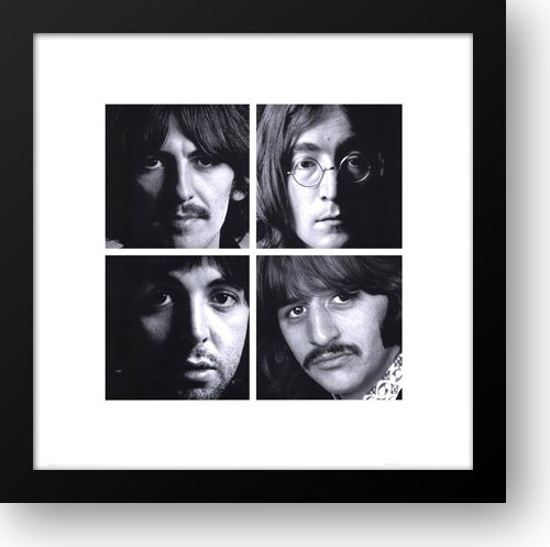 Beatles - White Album 20x20 Framed Art Print