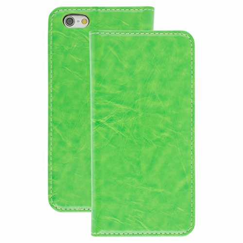 New Style Apple iphone 6s Case cover, Apple iPhone 6s Green Designer Style Wallet Case Cover