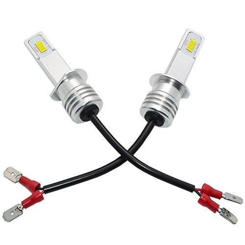 H1 LED Fog Light Bulb Newest Version 3570 CSP-Chips LED Fog Lamp Bulbs White 6000K Use For Fog Lights