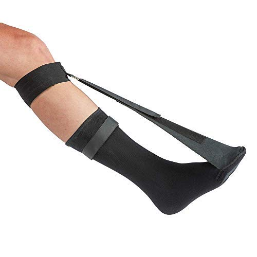ProStretch Night Sock for Plantar Fasciitis and Achilles Tendonitis, Alternative to Night Splint, Includes Toe Support for Comfort, OSFM.