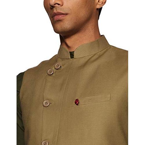 41p rKIfjVL. SS500  - The Indian Garage Co Men's cotton Waist Coat