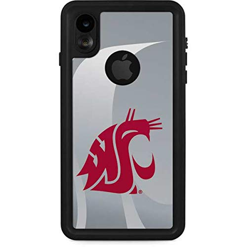 - Skinit Washington State Cougars iPhone XR Waterproof Case - Officially Licensed Phone Case - Fully Submersible - Snow, Dirt, Water Protected iPhone XR Cover