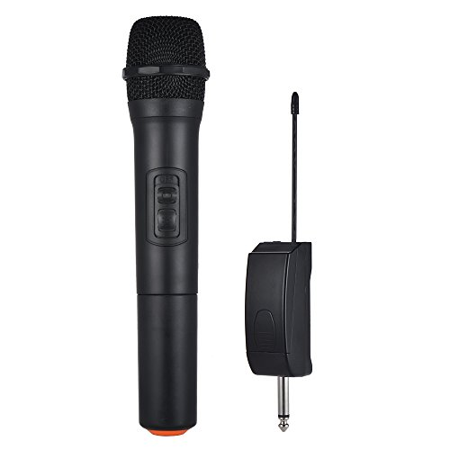 Walmeck Wireless Microphone Handheld Wireless Microphone Mic System 5 Channels for Karaoke Business Meeting Speech Home Entertainment by Walmeck