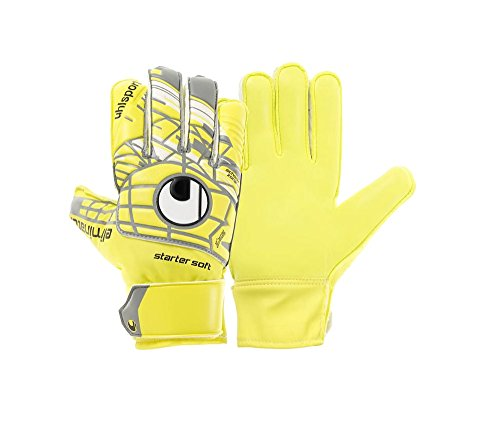 Uhlsport Player (Uhlsport Unlimited Starter Soft Goalkeeper Gloves (ylw/gry) 10)