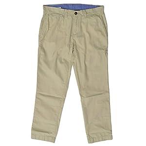 Tommy Hilfiger Mens Custom Fit Chino Pants (Fog, 32x30)