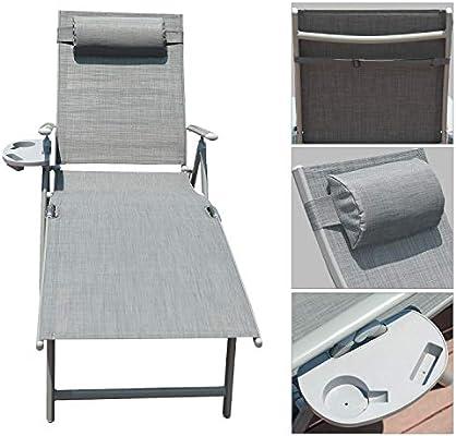 Amazon.com: GOLDSUN - Silla de aluminio para exteriores ...