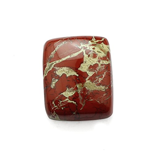Natural Rainbow Jasper Drill Loose Gemstone,Octagon Shape flat bottom Semi precious cut Gemstone,Jewelry making Gemstone,20x24 mm, cabochon ,45.50 Ct.B03.