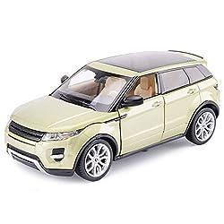 DUWEN Model Car Land Rover Aurora SUV Model 1:24 Emulation Alloy Model Car Toy Car Model Car Decoration Collection by DUWEN-Car Model