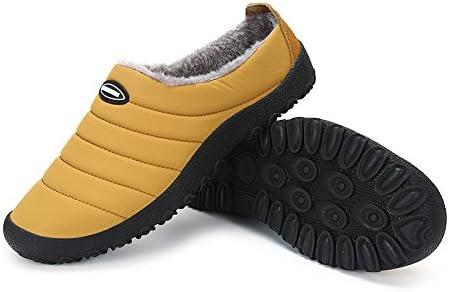 SPEEDEVE Unisexo Invierno Espesar Zapatillas de Casa