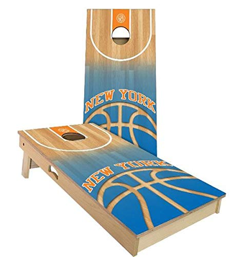 Floating Pong York Knicks Cornhole Boards, 2x3 (24