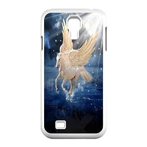 Pegasus & unicorn art Design Pattern Hard Skin Back Case Cover Potector for For Samsung Galaxy Case S4 FKGZ492189