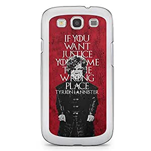 Samsung Galaxy S3 Transparent Edge Case Game Of Thrones Trion Lannister If You Want Justice
