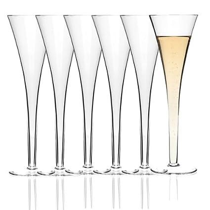 Leonardo – Juego de 6 Copas de champán Fon tainen Niza en Caja de Regalo