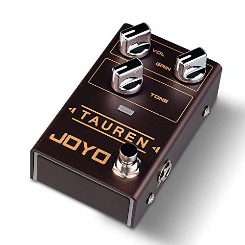 JOYO R-01 Tauren Overdrive Pedal, Guitar Effect Pedal, Single Effect Pedal, with Low & High GAIN Knob
