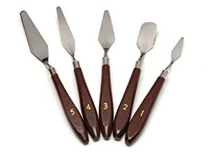 uxcell 5-Piece Painting Knife Set