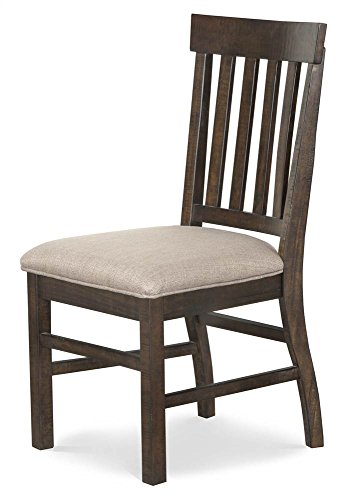Magnussen Furniture Traditional Dining Side Chair in Rustic Pine (Furniture Room Magnussen Dining)