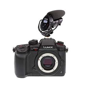 Panasonic Lumix DC-GH5s Mirrorless Camera Body - with Shure VP83F LensHopper Camera-Mount Shotgun Microphone