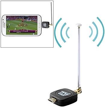 Móviles Micro USB 2.0 DVB-T Sintonizador de TV Stick Reloj ...