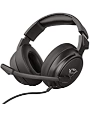 Trust GXT 433 Pylo - Auriculares Gaming para PC, Laptop, Playstation 4, Xbox One y Nintendo Switch, Negro